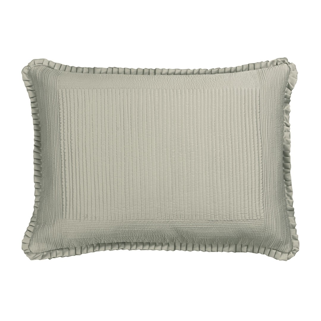 BATTERSEA LUXE EURO PILLOW / TAUPE S&S 27X36