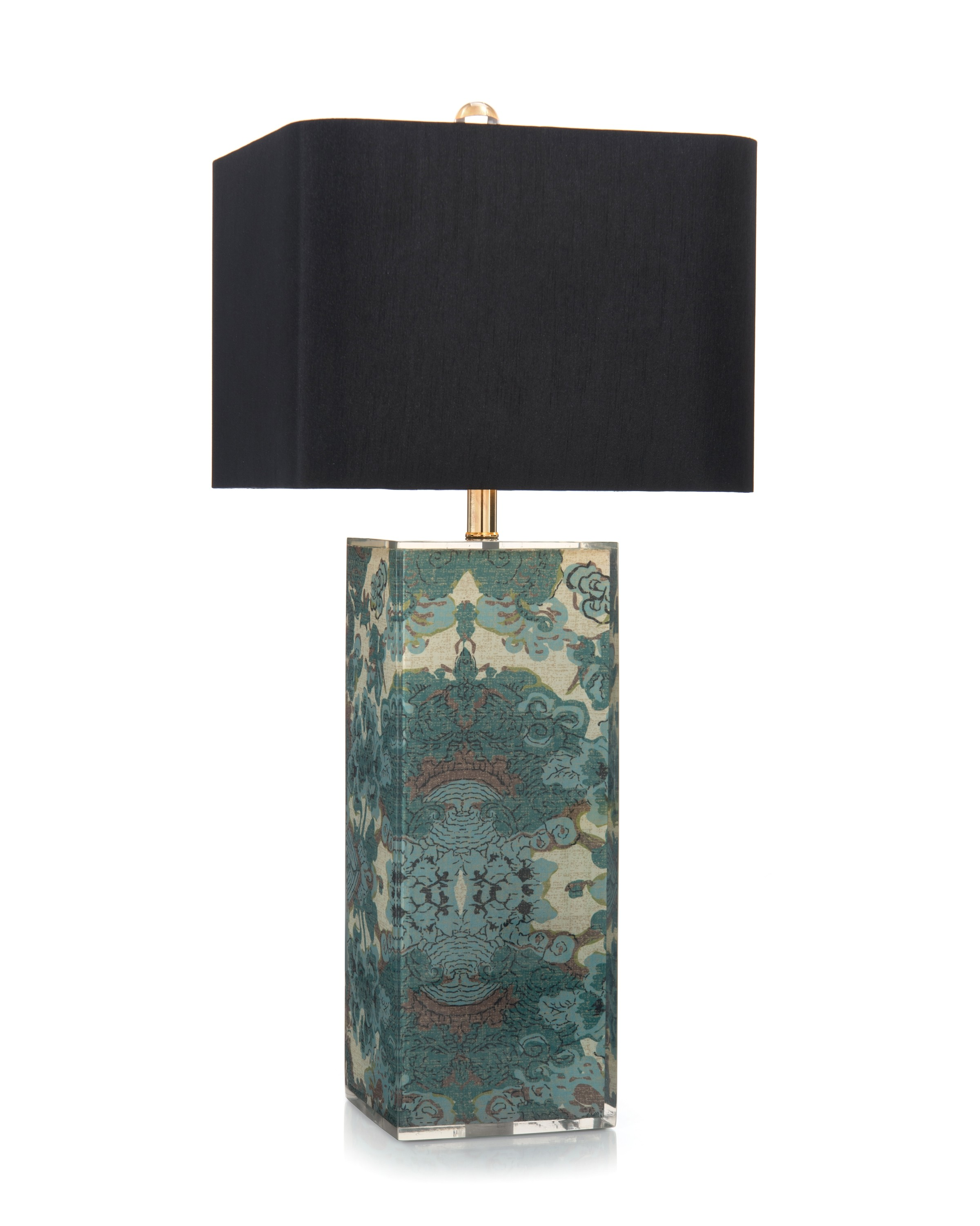 """33.5"""" Block of Color Table Lamp"""