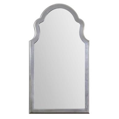 Brayden Silver Arched Oversized Mirror