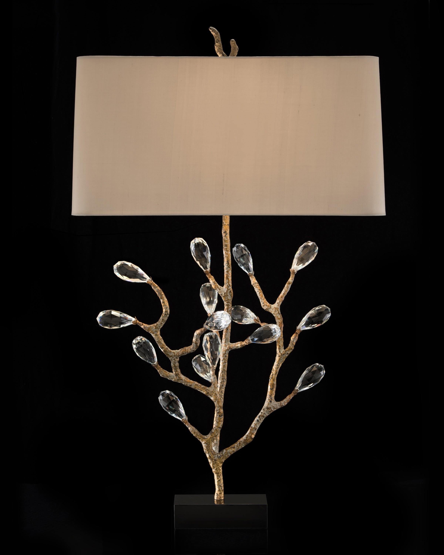 """Budding Crystal Lamp  37.5"""""""