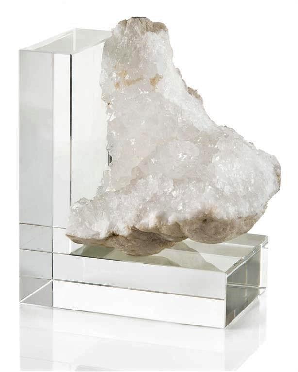 Crystal Quartz Bookend-Right
