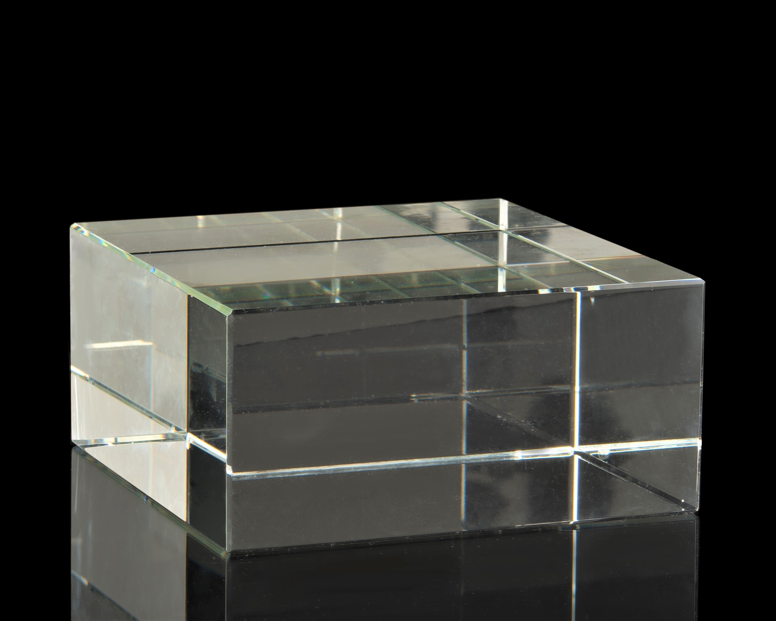 Large Crystal Display Block