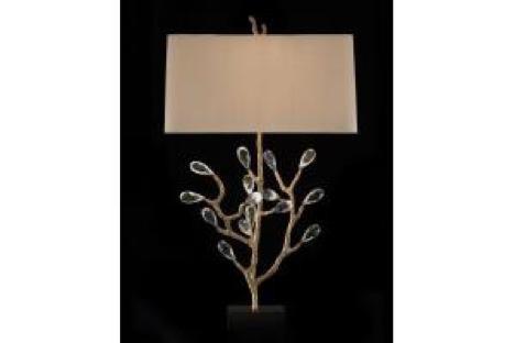 """37.5"""" Budding Crystal Lamp"""