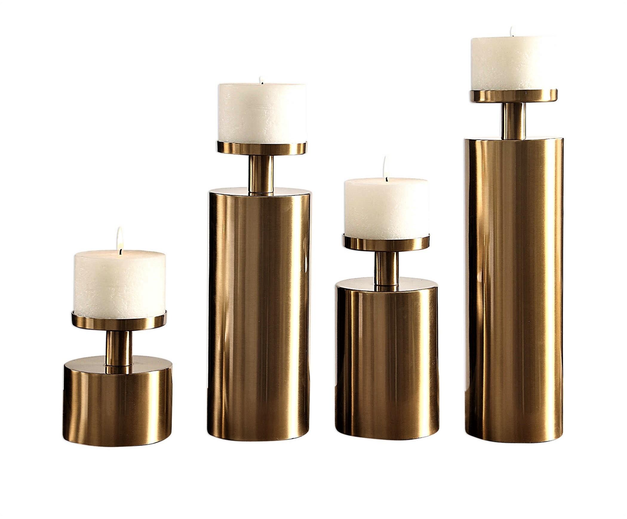 Kamdyn Candleholders, Set/4
