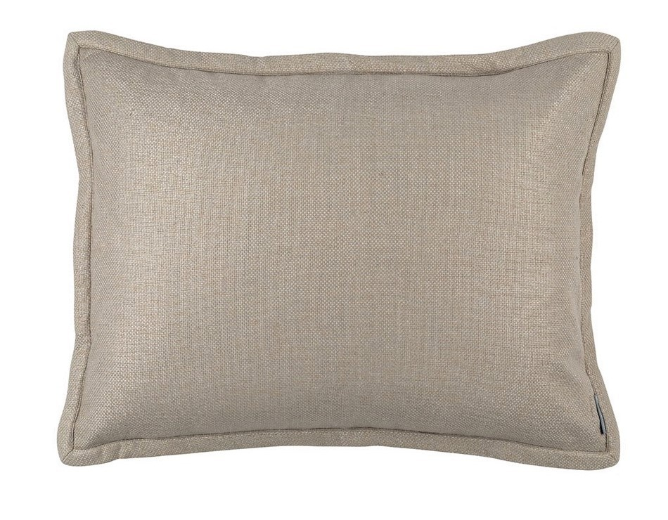 LAURIE STANDARD PILLOW SOLID STONE BASKETWEAVE 20X26