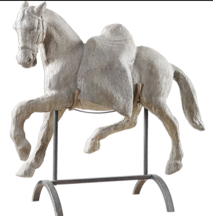 Lazzaro Horse Sculpture
