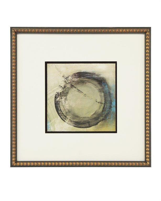 Let's Go II Circular Shape Abstract
