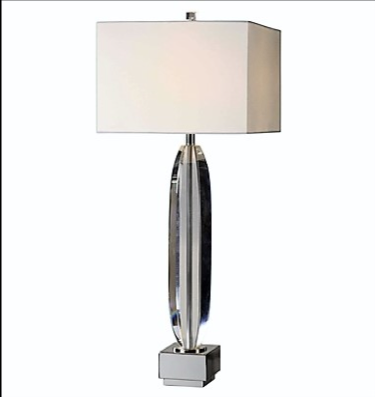 Marianna Table Lamp, Cut Crystal