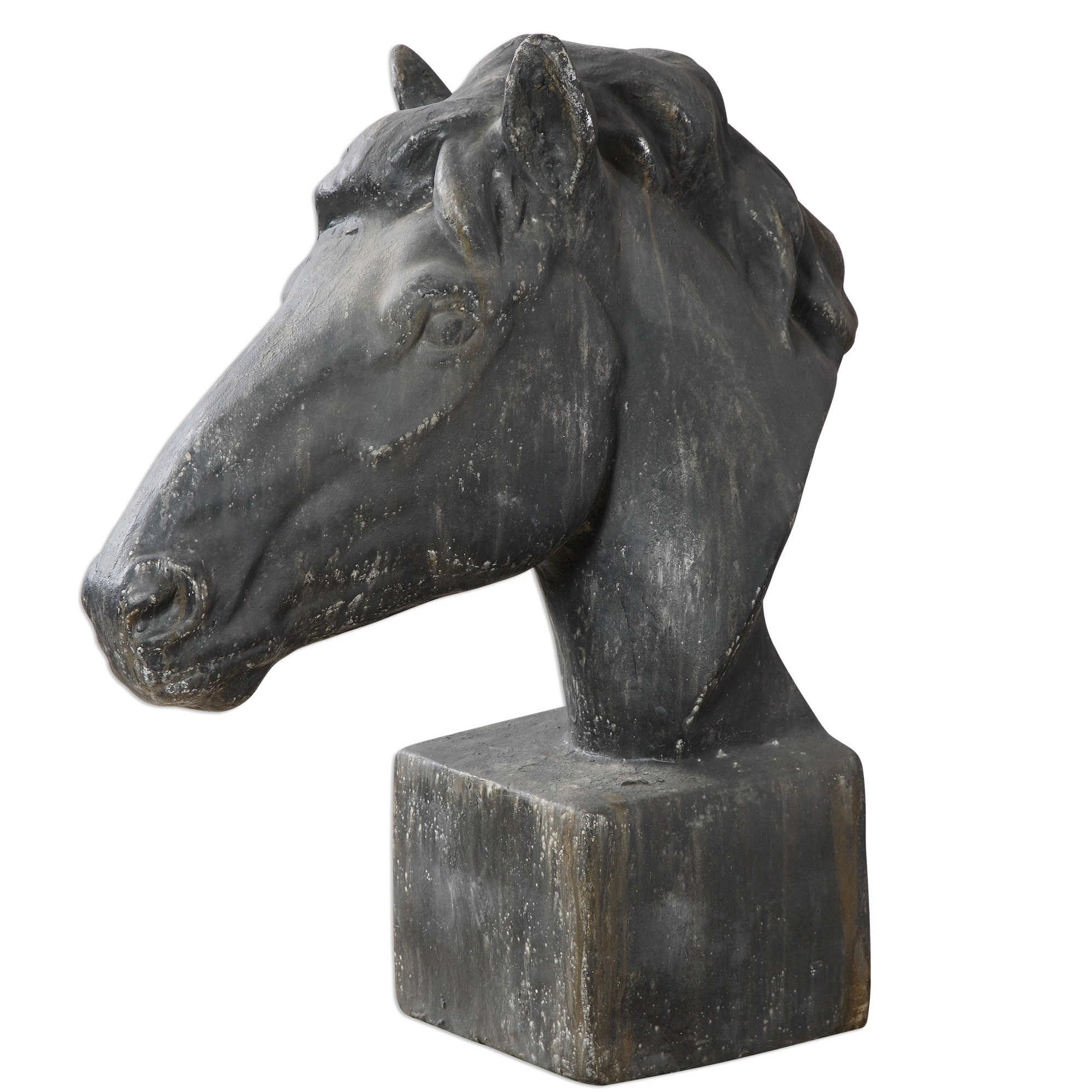 Massima Horse Head Sculpture