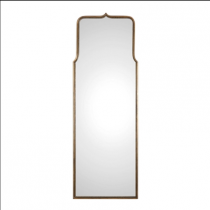 Adelasia Antique Gold Frame Oversized Profile Mirror