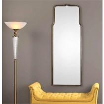 Adelasia Antique Gold Mirror