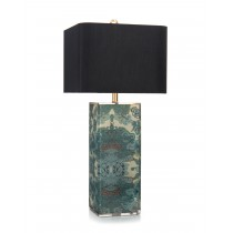"33.5"" Block of Color Table Lamp"