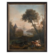 "50 x 62 x 3"" The Castle's Pasture Wall Art"