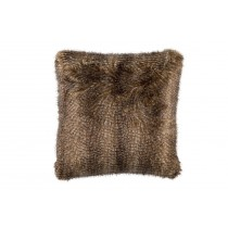 CHESTNUT FUR EURO PILLOW 28X28