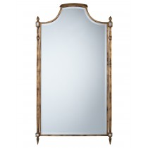 Conti Beveled Mirror w/Scalloped Top & Spires
