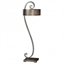 Dalou Silver Scroll Floor Lamp