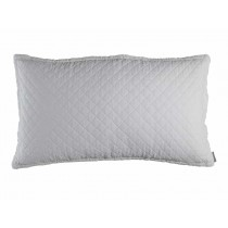 EMILY KING PILLOW / WHITE LINEN 20X36