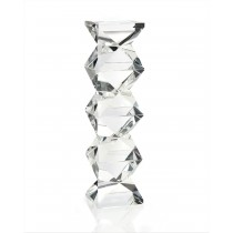 Geometric-Crystal-Candleholder-Tall