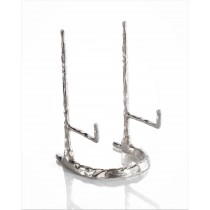 Deep Giacometti, Nickel Plate Stand