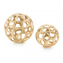 Gold Balls with Holes, Set/2