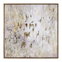 Golden Raindrops Wall Art