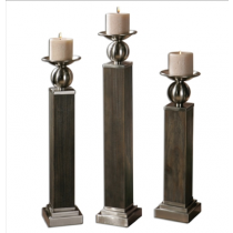 Hestia Candleholders, Set/3
