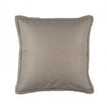 LAURIE EURO PILLOW - SOLID STONE BASKETWEAVE 26X26