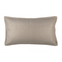 LAURIE KING PILLOW - SOLID STONE BASKETWEAVE 20X36