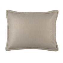 LAURIE STANDARD PILLOW - SOLID STONE BASKETWEAVE 20X26