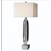 Marianna Table Lamp, Cut Crystal