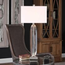 Marianna 3-Way Cut Crystal Lamp