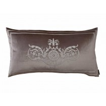 PARIS KING PILLOW / CHAMPAGNE VELVET / IVORY VELVET 20X36
