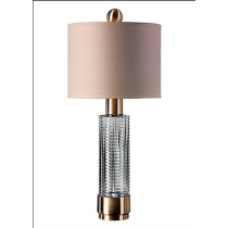Renato Table Lamp, Glass
