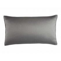 RETRO KING PILLOW / PEWTER S&S 20X36