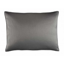 RETRO LUXE EURO PILLOW / PEWTER S&S 27X36
