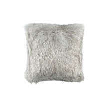 SILVER FUR EURO PILLOW 28X28