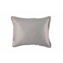 SOPHIA STD PILLOW IVORY LINEN/ GOLD LUREX 20X26