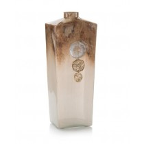 Terra-Finished Square Vase