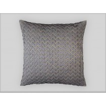 ULTRA PILLOW PEWTER S&S/PEWTER RIBBON 28X28