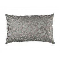 VALENCIA LARGE RECTANGLE PILLOW PEWTER/PLATINUM 18X30