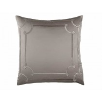 VENDOME EUROPEAN PILLOW / TAUPE S&S / FAWN VELVET 26X26