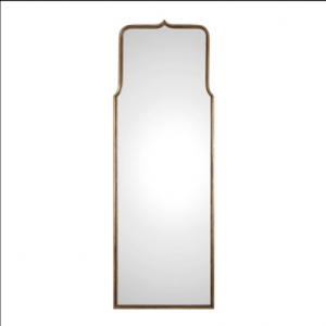 Adelasia Antique Gold Frame Oversized Profile Mirror