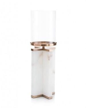 Alhambra Alabaster Candleholder, Large