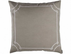 ANGIE EUROPEAN PILLOW / NATURAL LINEN / WHITE LINEN 28X28