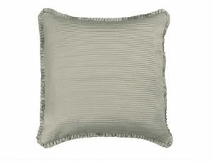 BATTERSEA EUROPEAN PILLOW / TAUPE S&S 26X26
