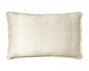 BATTERSEA KING PILLOW / IVORY S&S 20X36