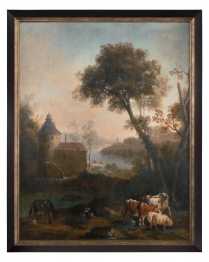 """50 x 62 x 3"""" The Castle's Pasture Wall Art"""