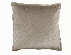 CHLOE EUROPEAN PILLOW / FAWN VELVET 26X26