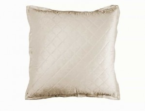 CHLOE EUROPEAN PILLOW / IVORY VELVET 26X26