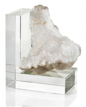 Crystal Quartz Bookend-Right